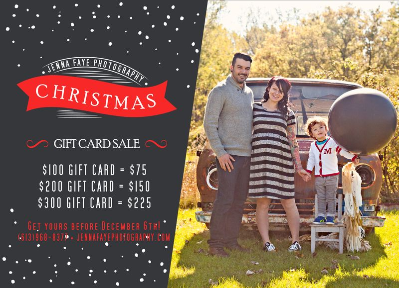 2013 gift card sale